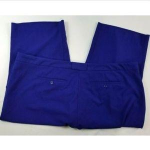 Daisy Fuentes Women Blue capri pants Size 22W